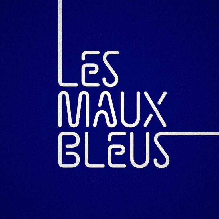 """Visuel du podcast """"Les Maux Bleus"""""""